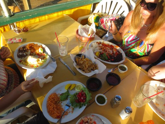 Mariasol Cocina Mexicana: Shredded Chicken & Beef Tacos, Red Snapper Ceviche - Very Tasty