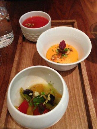 appetizer trio picture of kitchen galerie bis paris tripadvisor