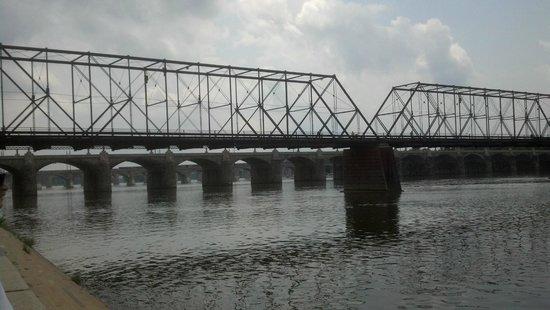 Downtown Harrisburg: Bridge over Susquehanna