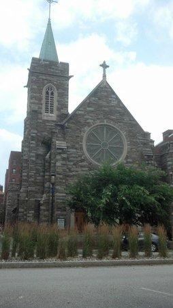 Downtown Harrisburg: Church Near the Capital