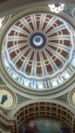 Downtown Harrisburg: Ceiling of Capital Bldg.