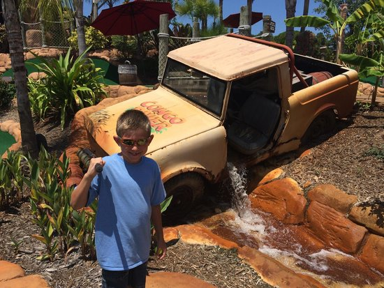 Congo River Golf : In front of hole 3 or 4!