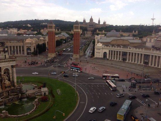 Catalonia Barcelona Plaza : Vista desde la piscina