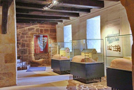Wartburg Castle : Ausstellung über die Geschichte der Burg