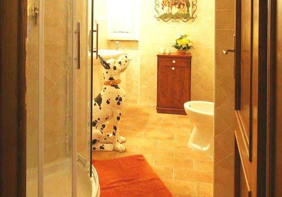Casa Kita: bagno camera silvia