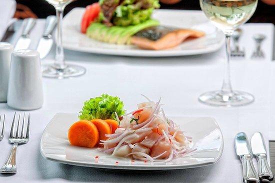 Foresta Hotel Lima: Ceviche Restaurant Terrace Aguaymanto