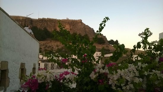 Odyssia Restaurant: View from our table.