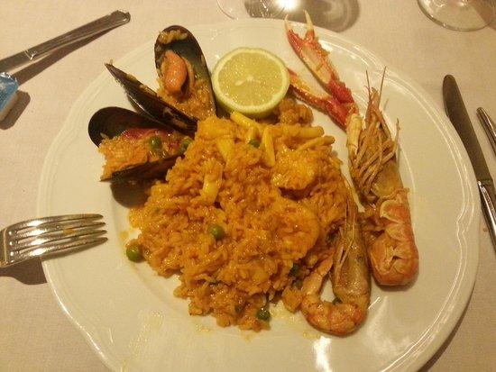 Restaurante La Toja : Paella