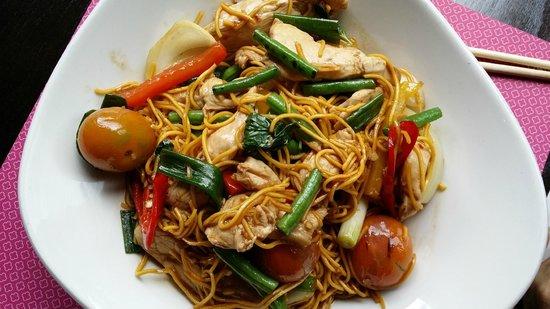 Saba: Noodles.