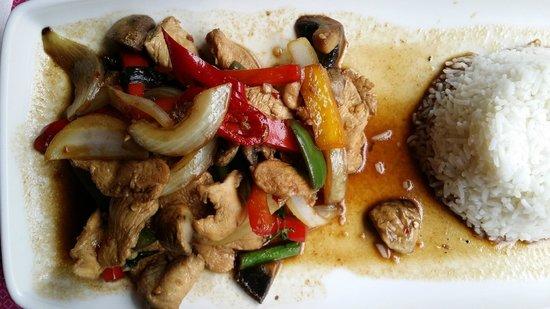 Saba: Chicken dish.