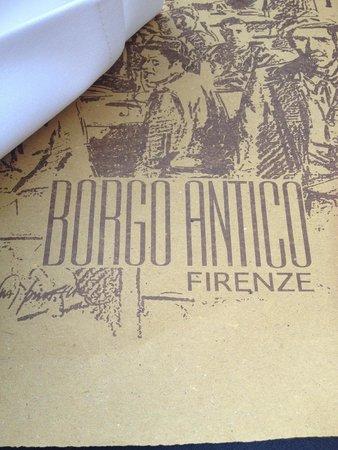 Trattoria Borgo Antico: Name of Restaurant
