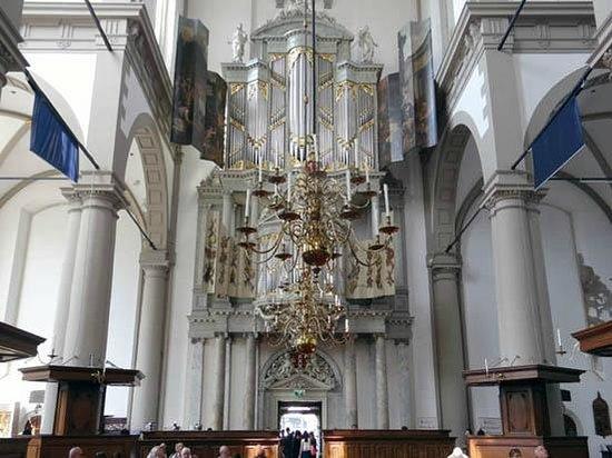 Westerkerk: the pipe organ