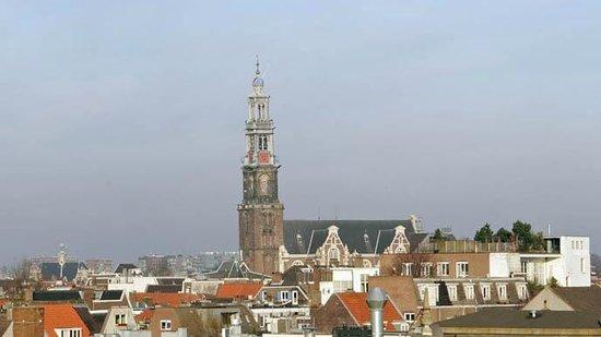 westerkerk from a far