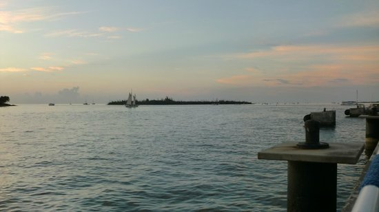 The Westin Key West Resort & Marina : View From Upstairs Bar