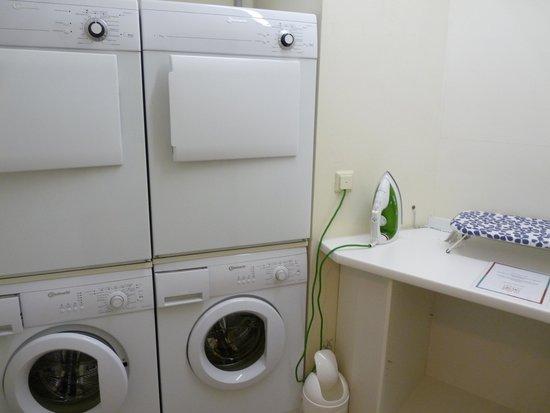 Bridge Inn Hotel: Waschmaschinenraum