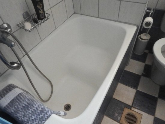 Thalassi Hotel-Apts : le bac a douche