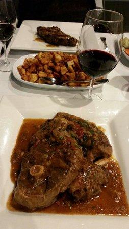Sosta Argentinean Restaurant: Large serving of goat
