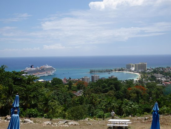 Yardie Tours: view from one of our stops