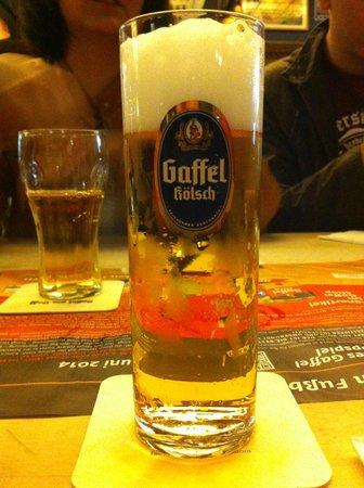 Gaffel am Dom: Bebida