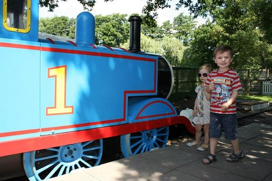 Drayton Manor Park: It's really Thomas!