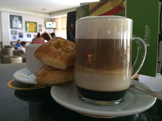 Grand Riviera Princess All Suites Resort & Spa: Yummy coffee beverage