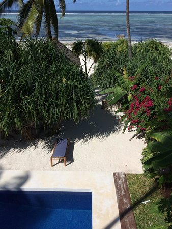 Matemwe Bandas Boutique Hotel, Zanzibar: View from the tree house.