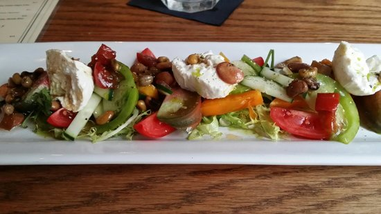Terra Mae : Heirloom Tomato Salad