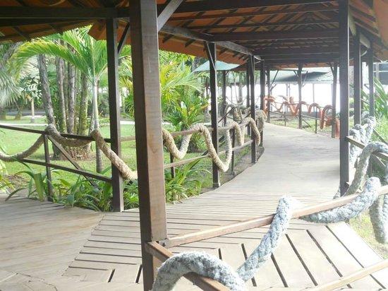 Mawamba Lodge: Walkways...