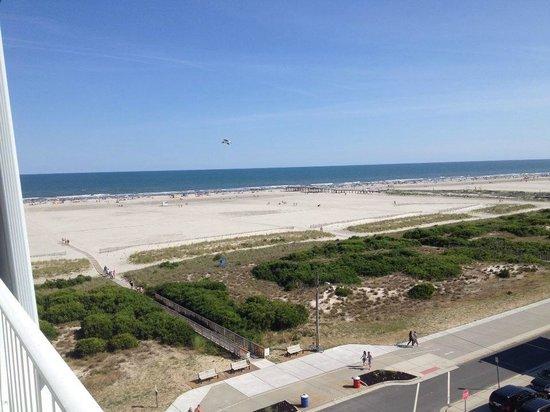 Adventurer Oceanfront Inn: Oceaview from Balcony