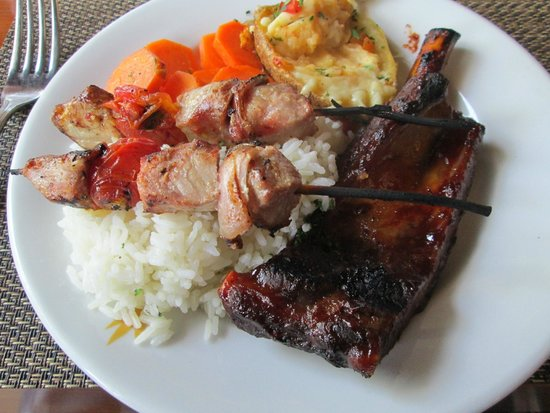 Bavaro Princess All Suites Resort, Spa & Casino: Steak House Buffet lunch