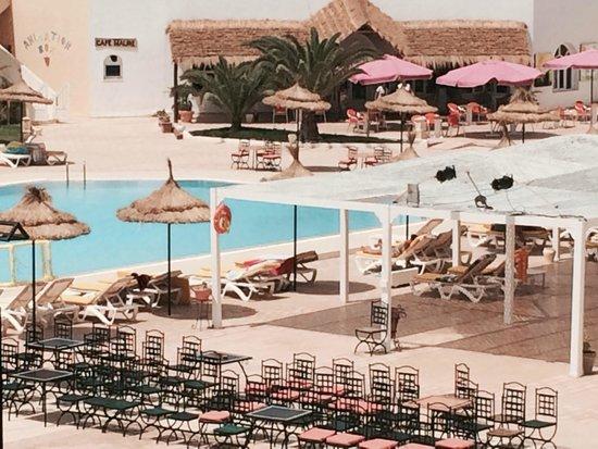 Hotel Djerba Les Dunes: vue de ma chambre