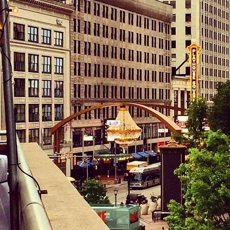 Wyndham Cleveland at Playhouse Square : View from hotel