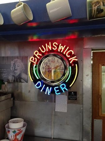 Brunswick Diner, turn the clock back while you dine on great food.