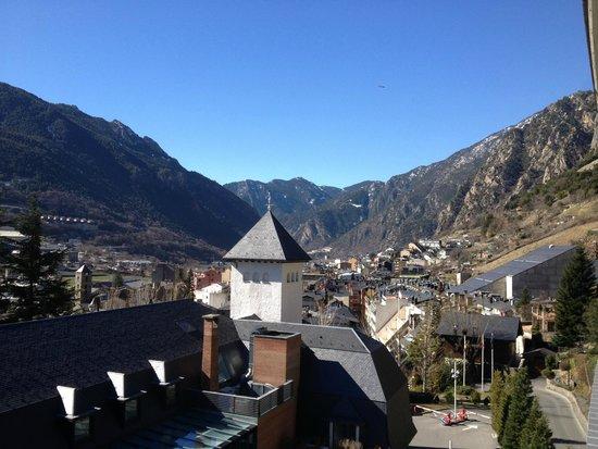Andorra Park Hotel: Vista dia Terraza
