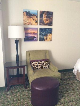 San Diego Marriott La Jolla: Sitting area