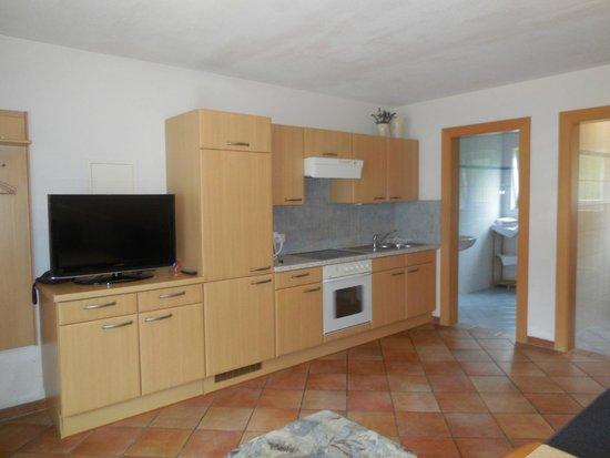 Hechenbergerhof: kitchen area