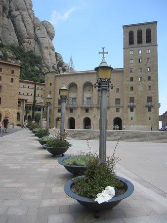 Montserrat Monastery : Exterior
