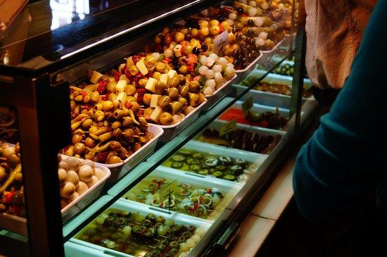 Mercado San Miguel: La vitrina