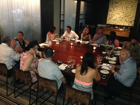 Colicchio & Sons Tap Room: Private room, set for party of 14