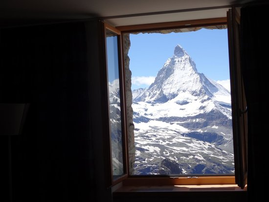 3100 Kulmhotel Gornergrat : Room with a view...