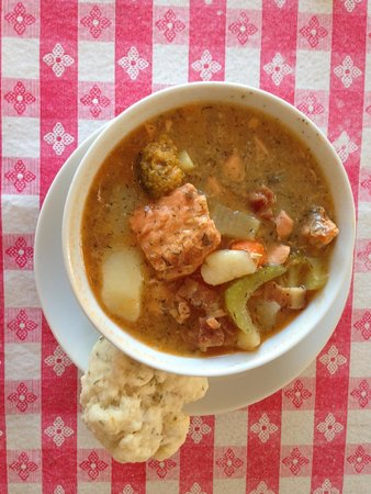 North Pacific Cannery Museum: Amazing chowder