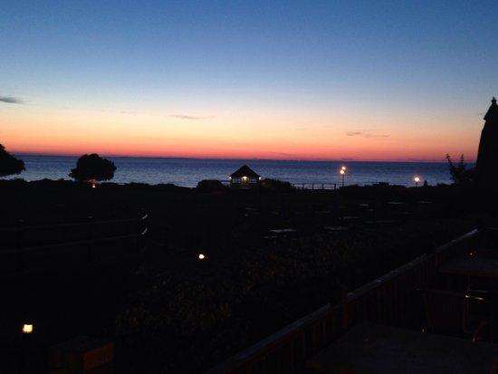 The Ancient Mariner Inn: Sunset