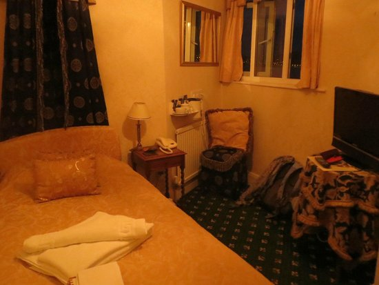 Headlands Hotel: Single room #241