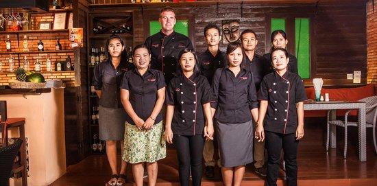 Scandic Grill & Bar: staff