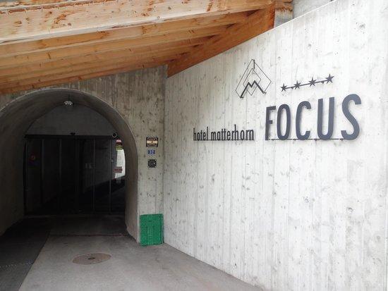 Hotel Matterhorn Focus: The hotel entrance...