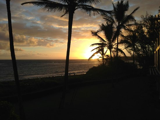 Turtle Bay Resort : Sunrise from our room