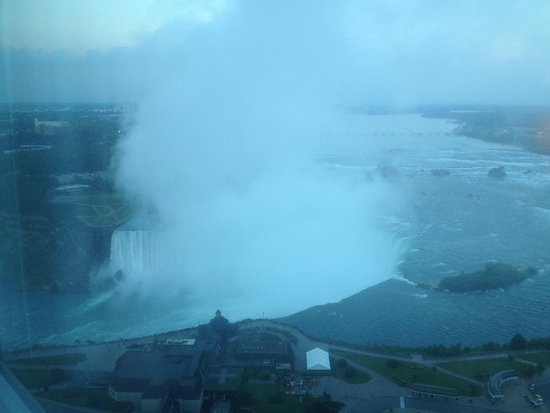 Embassy Suites by Hilton Niagara Falls Fallsview Hotel : Amazing view from #4014
