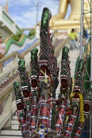 Big Buddha Temple (Wat Phra Yai) : Glass Mosaic