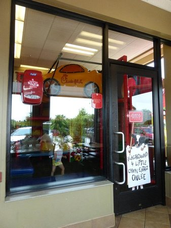 Chick-Fil-A Kid's Play area Elkton