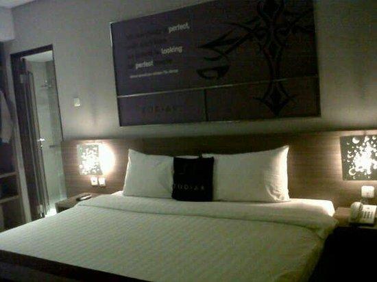 Zodiak @ Cokroaminoto Yogyakarta: Our room